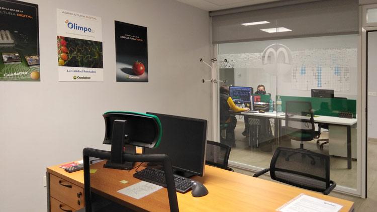 Modernos espacios de trabajo.