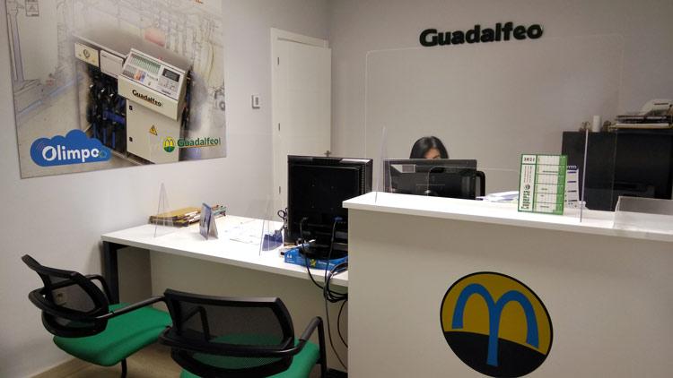 Nueva recepción Guadalfeo